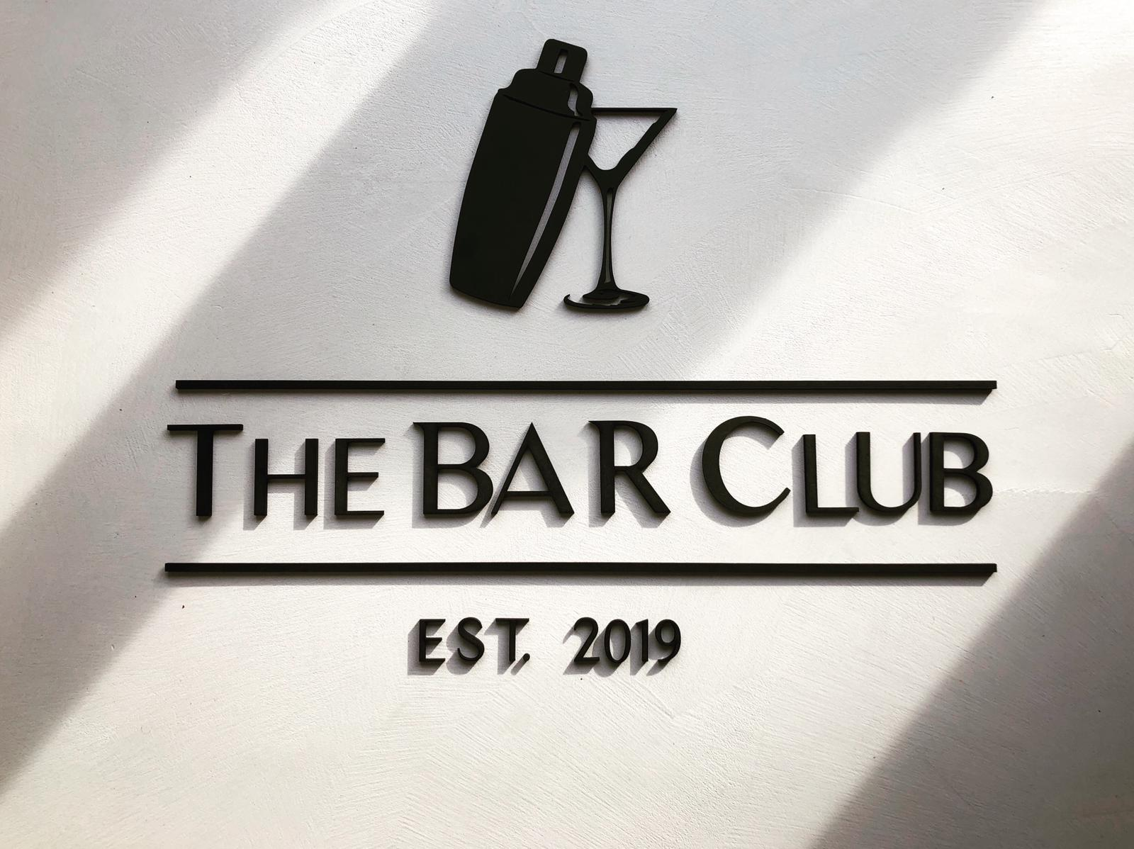 The BAR Club lasersnijden