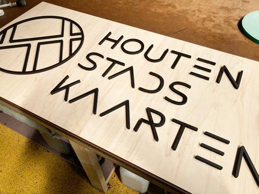 Houtenbord productie